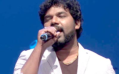SuperSinger Diwakar sings a Eelam song