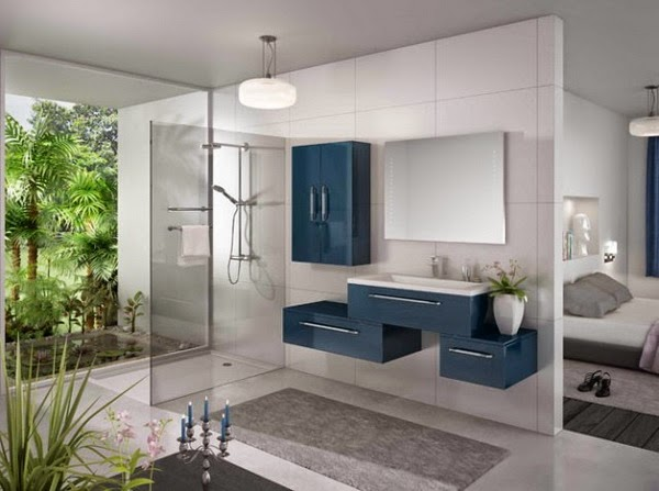Blue Bathroom Design Ideas 2