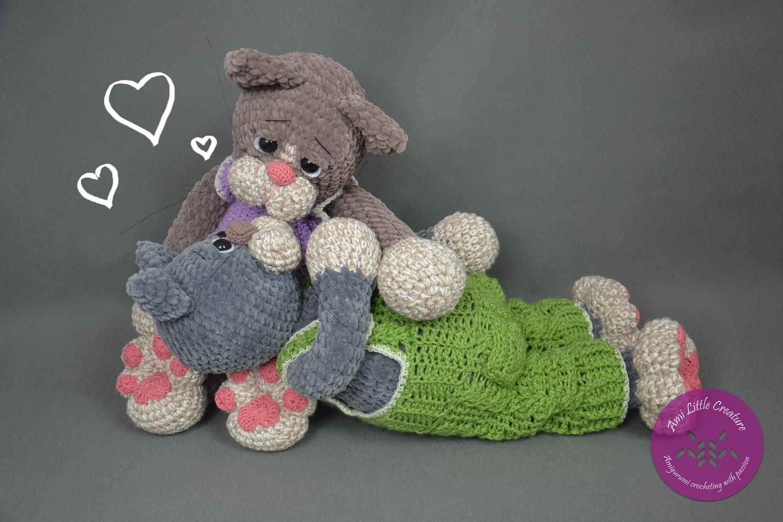 2000 Darmowe Wzory: amigurumi Wzór Cat Crochet na Stylowi.pl | 1067x1600