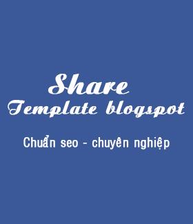 Theme blogger cá nhân chuẩn seo tuyệt đẹp