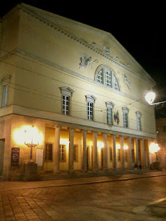 The Teatro Regio in Parma, where Bruson was seen by a talent scout from the Met