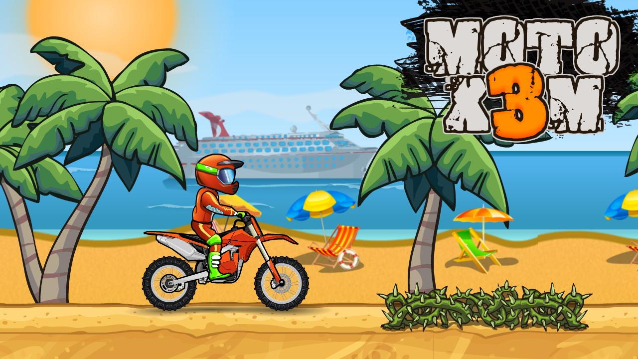 Moto XM Motosiklet Yarışı - Moto XM Bike Race