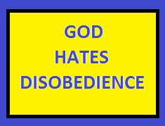 Don't disobey God