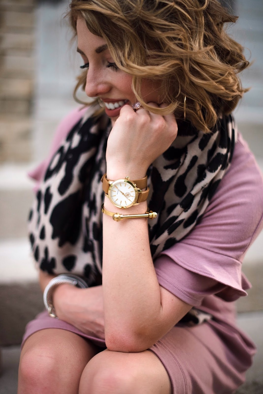 Tory Burch Wrap Watch - Click through to find all the details on Something Delightful Blog!
