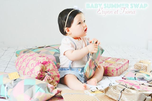 Baby Summer Swap avec Myberrystyle et Fiona