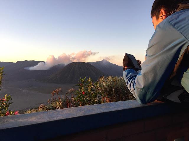 Pemandangan dari Seruni Point Bromo