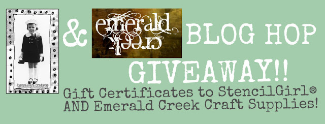 StencilGirl® Products & Emerald Creek Giveaway