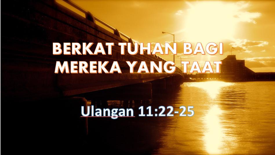 Diberkati Karena Mengandalkan Tuhan