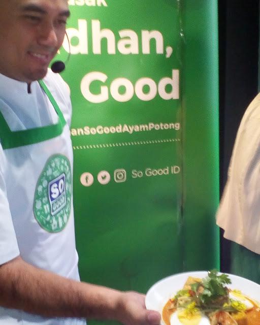 chef ari galih mempraktekan pemenang lomba saatnya ramadhan, saatnya so good