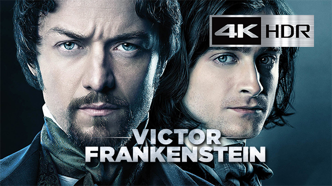 Victor Frankenstein (2015) WebRip 4K UHD [HDR] Latino-Ingles