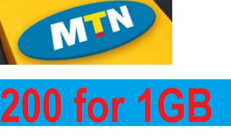 How to get MTN 1GB for N200