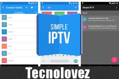 Simple IPTV App - Lettore multimediale di file video e liste streaming IPTV