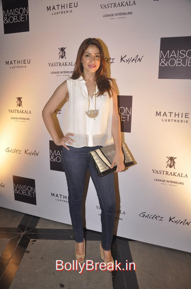 Bhavna Pandey paired her white shirt with denims and a clutch, Gauri Khan hosted the glitterati of Mumbai in an event to launch her new workspace in Mumbai