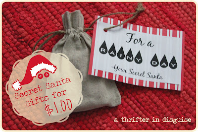 secret santa craft ideas a thrifter in disguise secret santa saturday gifts for a 5392