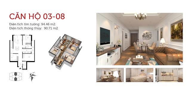 Chi tiết căn hộ chung cư 360 Giải Phóng