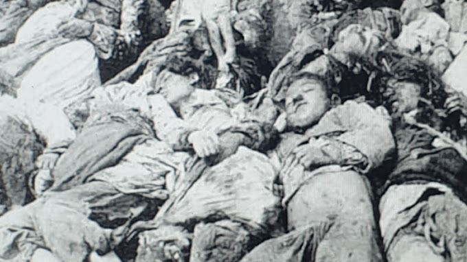 Ermeni katiller 523 bin Müslüman Türk'ü öldürdü 1910-1922