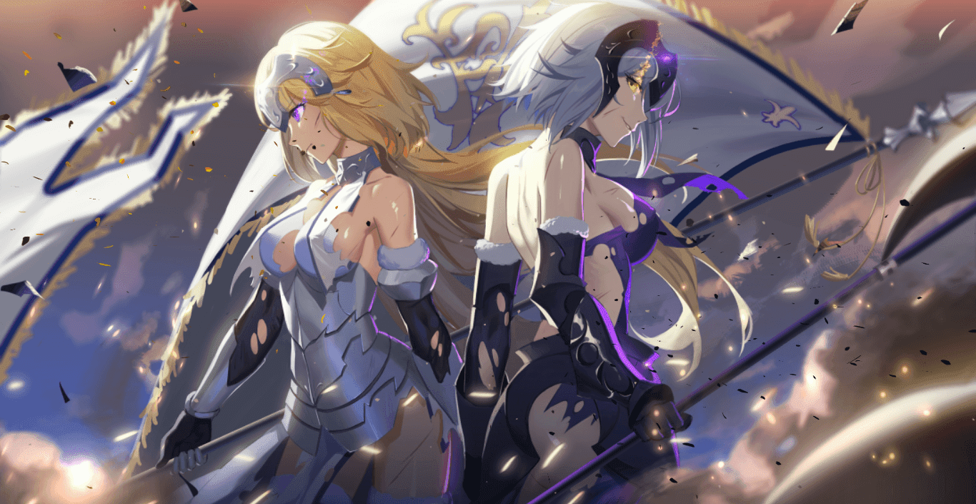 Fate Apocrypha/Grand Order-Ruler [Wallpaper Engine Anime]
