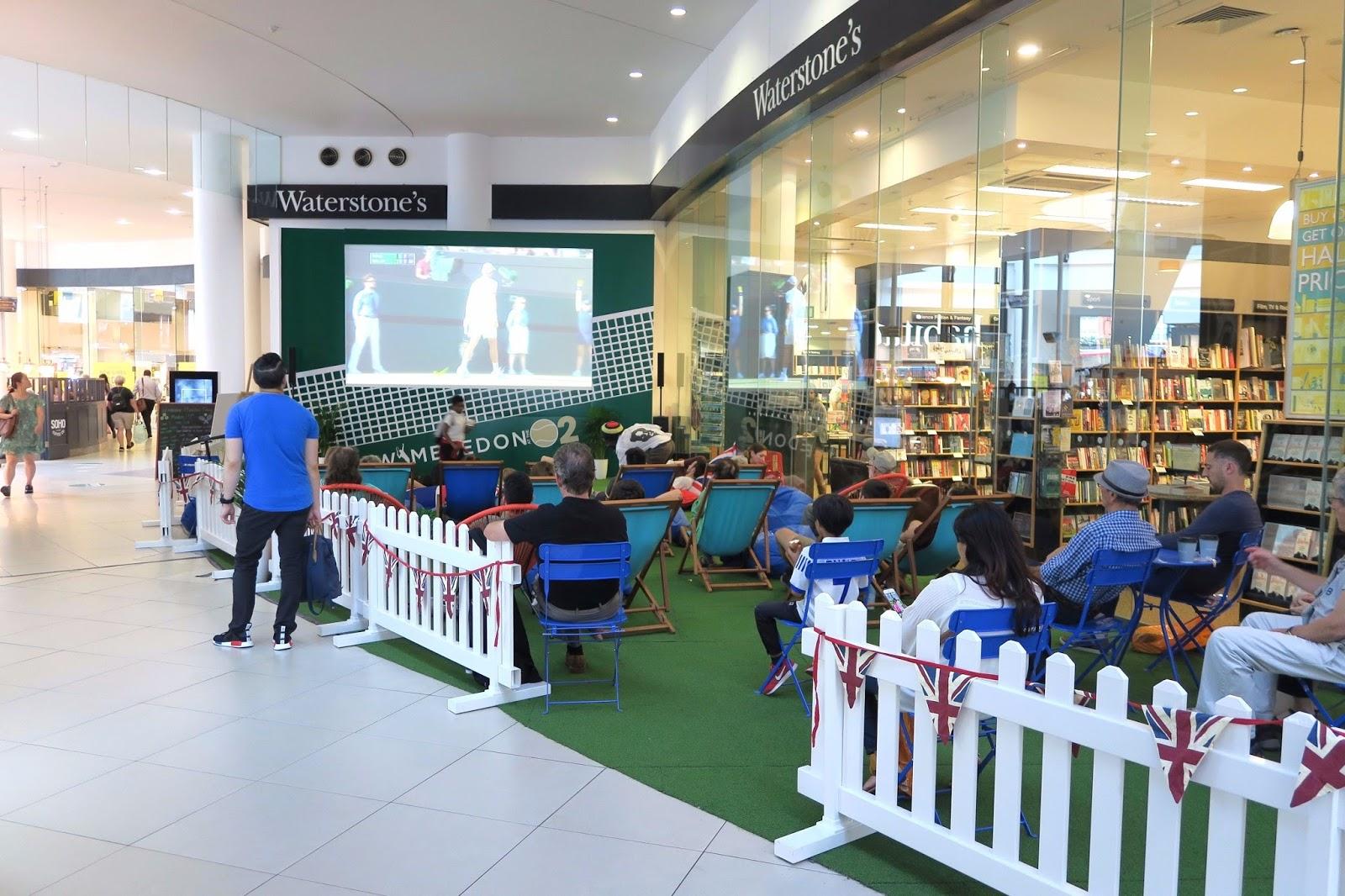 Inside o2 centre