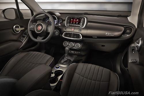 2018 Fiat 500X Trekking Interior