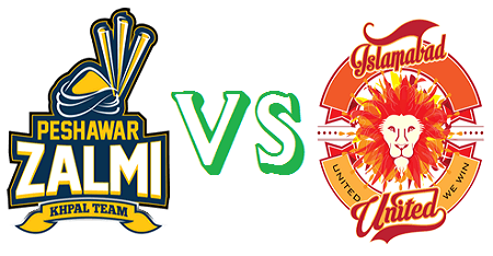Peshawar Zalmi vs Islamabad United At Dubai PSL T20 5th February 2016
