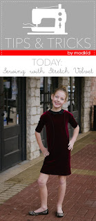 Sewing with Stretch Velvet