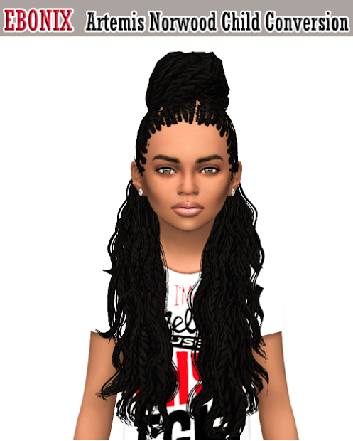 sims 4 norwood hair converted