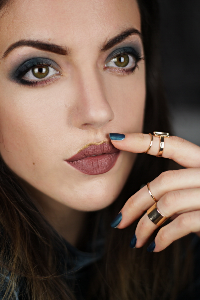 Blaues Augen Make Up schminken