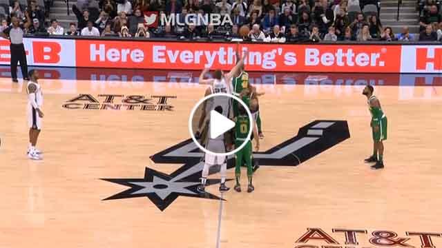 NBA Game Highlights: Boston Celtics vs San Antonio Spurs - December 31, 2018