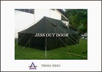 Tempat pembuat penjual dan produksi tenda Regu