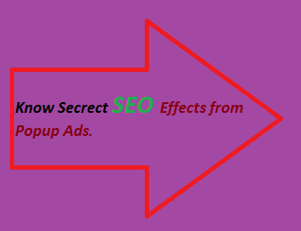 SEO Effects, Monetizing Popup Ads