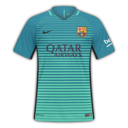 GT Camisas  Camisas Barcelona 2016   2017 - Home 8c5964ca6aed3