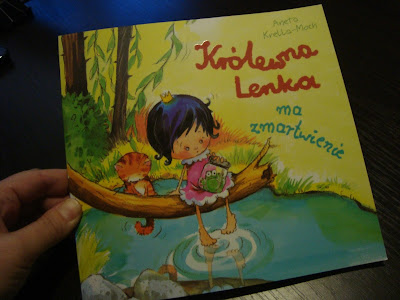 Królewna Lenka ma zmartwienie, książka o pojawieniu się młodszego rodzeństwa, brata, siostry