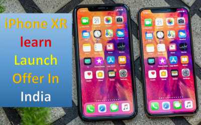 iPhone XR | learn Launch Offer In India