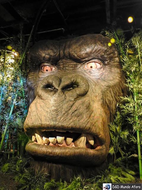 Gorila na ilha da caveira - Madame Tussauds: Como visitar o museu de cera de Londres