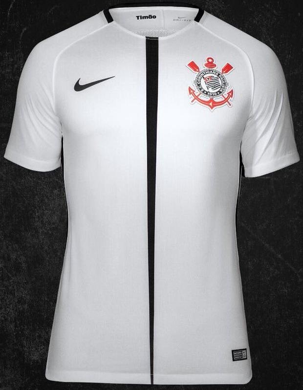 Nike divulga as novas camisas do Corinthians - Show de Camisas ae7f042fb4269