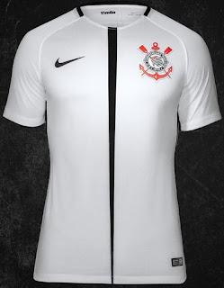 Para a temporada 2017 o Corinthians apresentou seu 1º uniforme  9d17f22c650d3