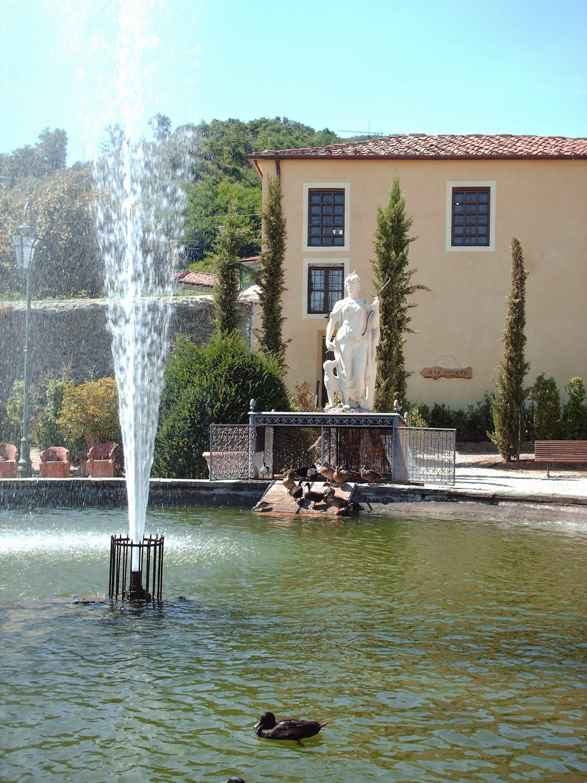 Alla scoperta delle meraviglie della Toscana: i giardini di Villa Garzoni a Collodi