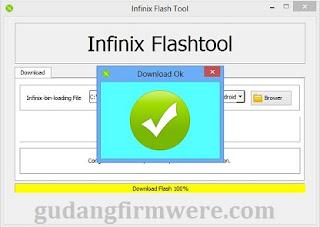 Cara Flash Infinix X801 JoyPad 8S sukses