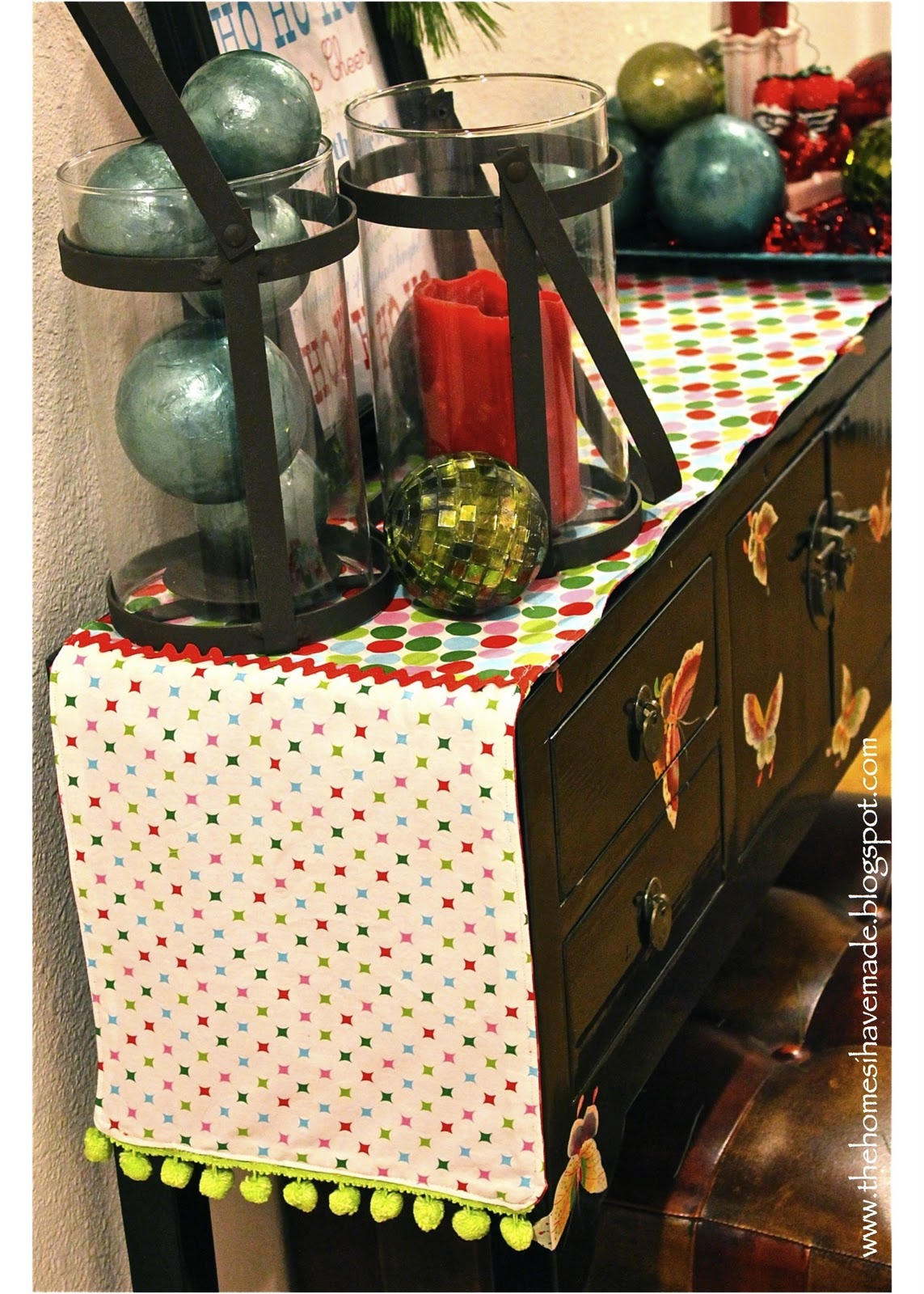 Sofa Table Runners Sears Console Runner And Holiday Quotmantel Quot The Homes I