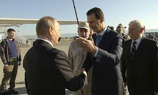 Putin Kunjungi Suriah