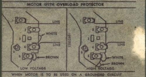 Ac Motor Speed Picture: Century Ac Motor Wiring