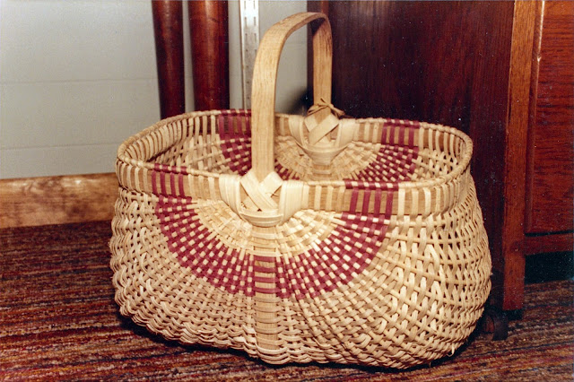 Ribbed basket