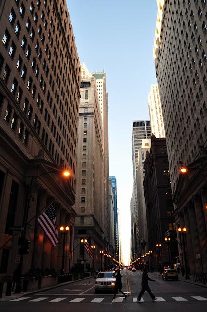 Häuserschlucht, Chicago