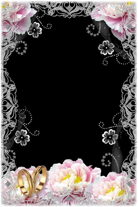 elegantes marcos para fotos de boda o matrimonio marcos gratis para fotograf as. Black Bedroom Furniture Sets. Home Design Ideas