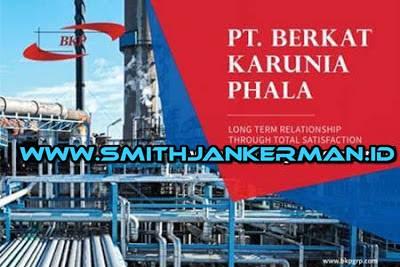 Lowongan PT. Berkat Karunia Phala Pekanbaru Mei 2018