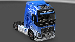 Klanatrans skin edit for Volvo 2012