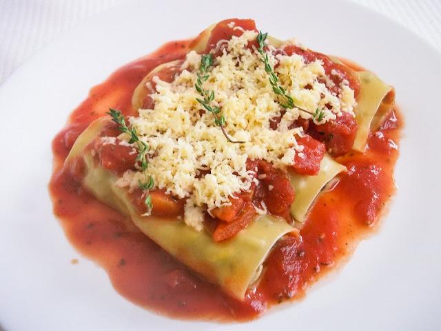 przepis na zdrowe, włoskie danie na parze