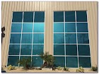 Green Tinted GLASS WINDOWS