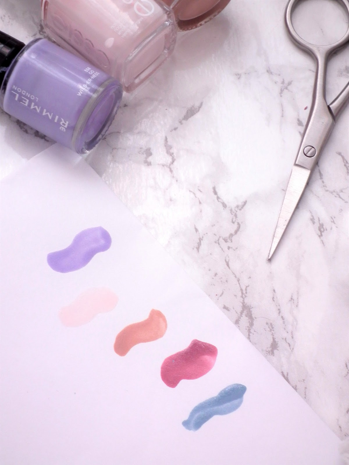 Spring Nail Picks Swatches