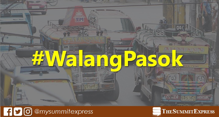 #WalangPasok: Class suspensions for Monday, July 17, 2017